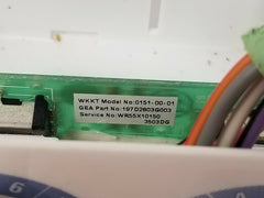 WR55X10150 197D2803G003 GE Refrigerator Encoder Board with Knobs and Cover