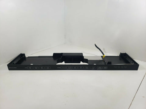 KitchenAid Dishwasher Control Panel Assembly (Black) W10315235