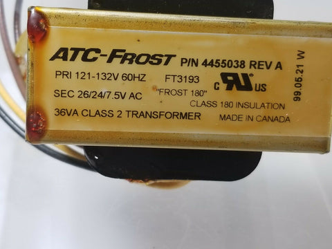 ATC-FROST 4455038  KitchenAid Conv. Microwave 36VA Class 2 Transformer