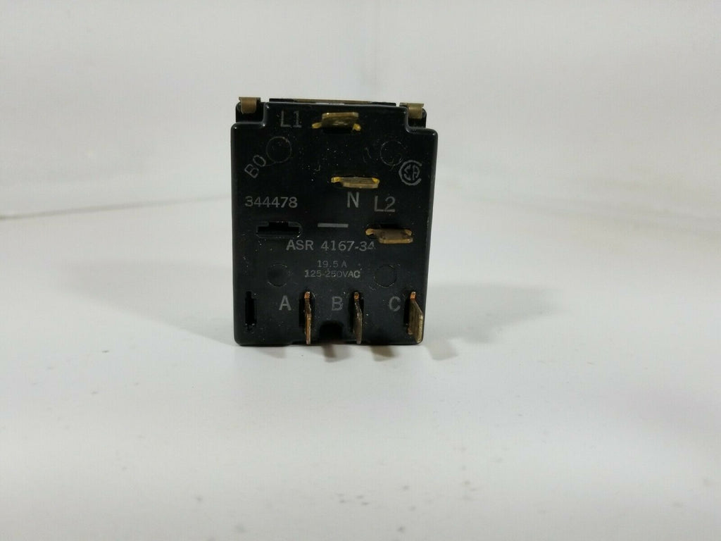 Whirlpool Range Oven Selector Switch 344478 ASR4167-34