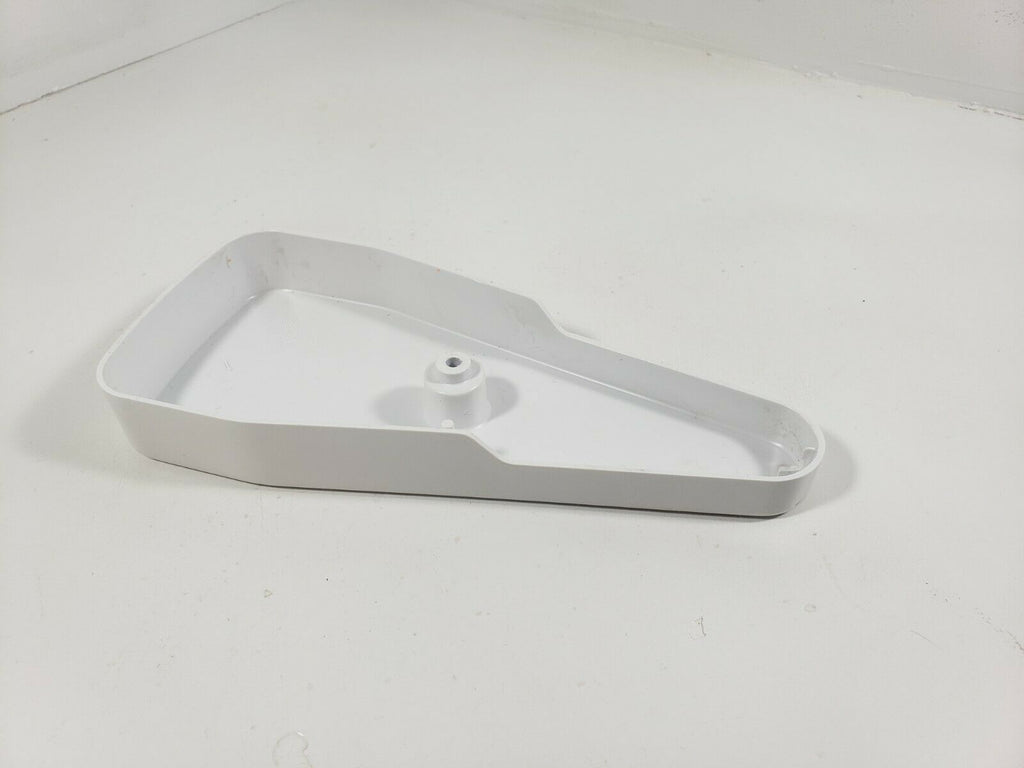 GE Refrigerator Door Hinge Cover (White) WR02X11623 197D4022