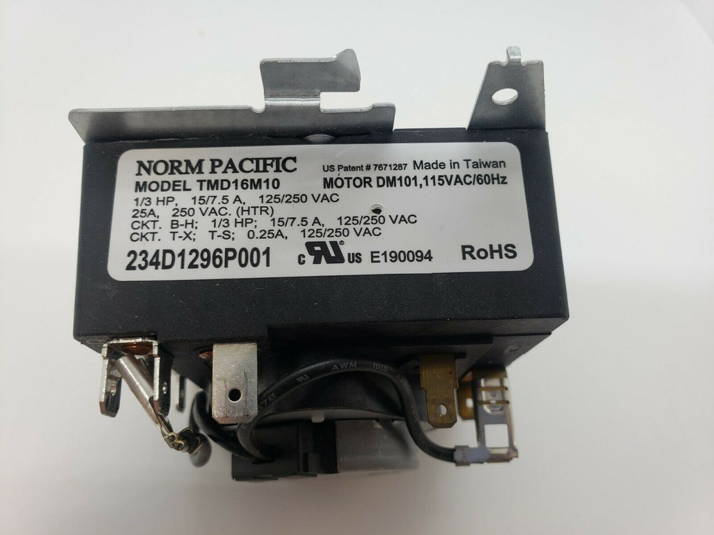 GE HOTPOINT 234D1296P001 TMD16M10 DRYER TIMER NORM PACIFIC