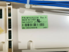 Whirlpool Washer User Interface Display Board W10352338 W10348029 W10368102