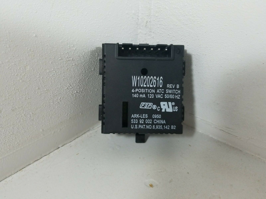 Maytag Washer Temperature Switch W10202616