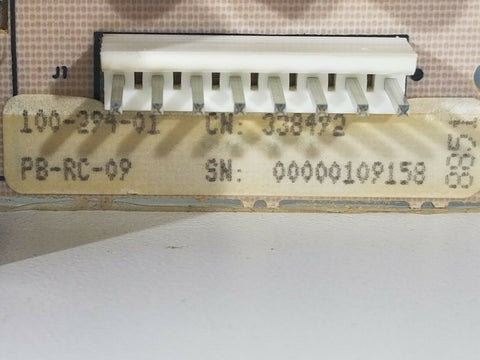General Electric / Roper Range Relay Board WB27K3072 or 338492 or 100-294-01