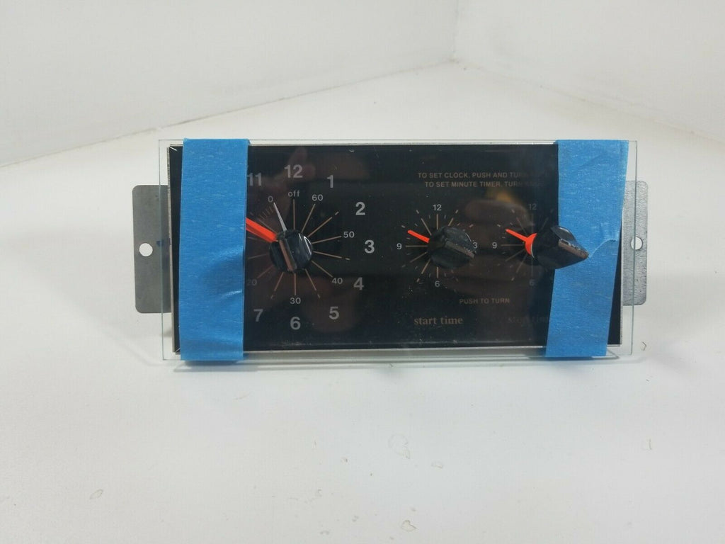 Whirlpool RF365BXPW1 electric range Glass clock Part #313511
