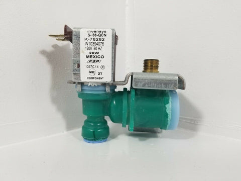 Robershaw Solenoid Refrigerator Inlet H20 Valve for Whirlpool W10395076 K-78282