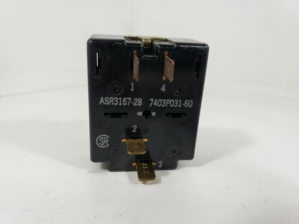 Range Oven Selector Switch ASR3167-28