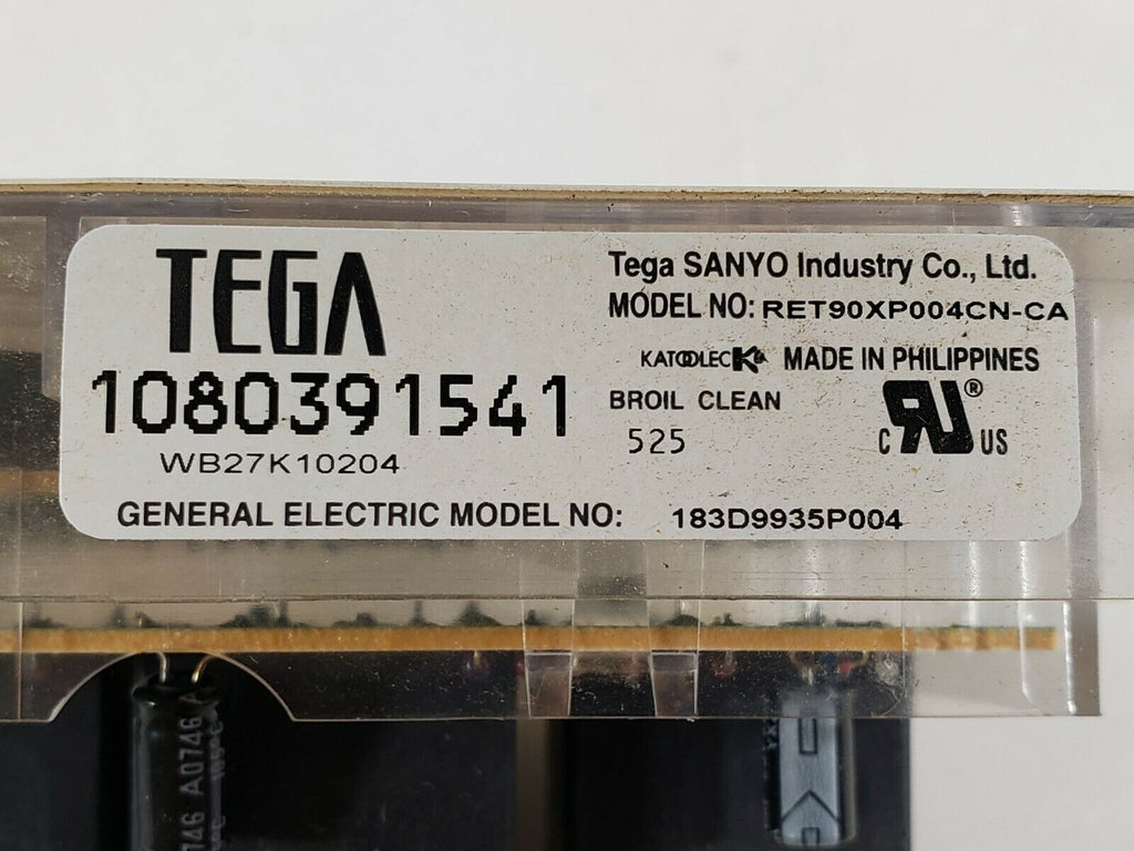 GE Range Stove Oven Electronic Control Board WB27K10204