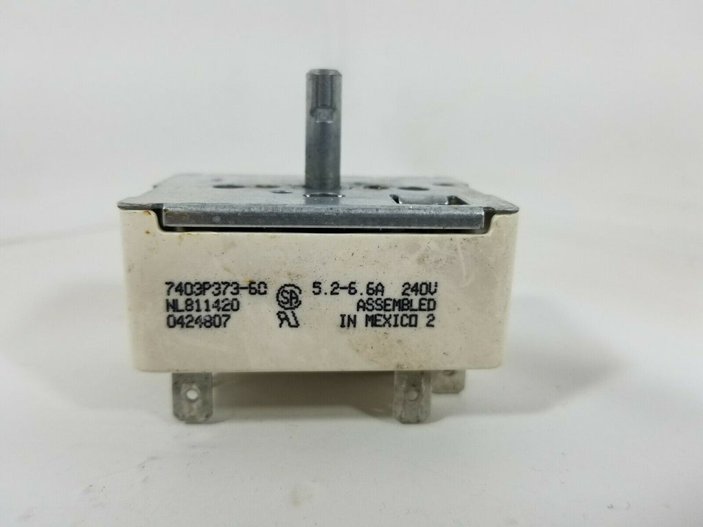 MAYTAG MAGIC CHEF WHIRLPOOL Range Oven Infinite Switch 7403P373-60, 0424807