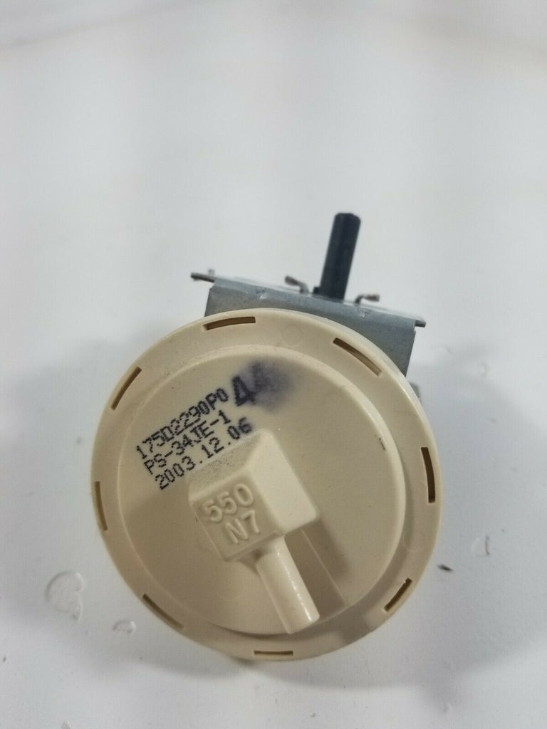 175D2290p044 GE WASHER WATER LEVEL PRESSURE SWITCH