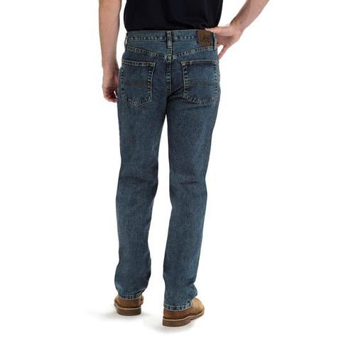 Brand New! Lee Men's Premium Select Relaxed-Fit Straight-Leg Jean 42 x 32 NightFall