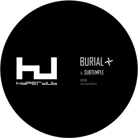 Burial - Subtemple / Beachfires 10""