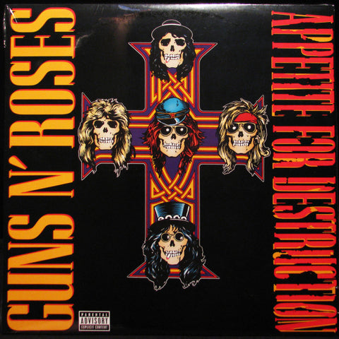 Guns 'N' Roses - Appetite For Destruction 2LP