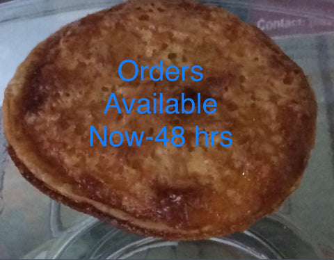 Orders Now-48hrs Coconut Tart Queijada (in-store pick up )