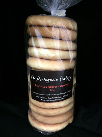 Coconut Biscoitos Large Stack 12Ct. (20oz)