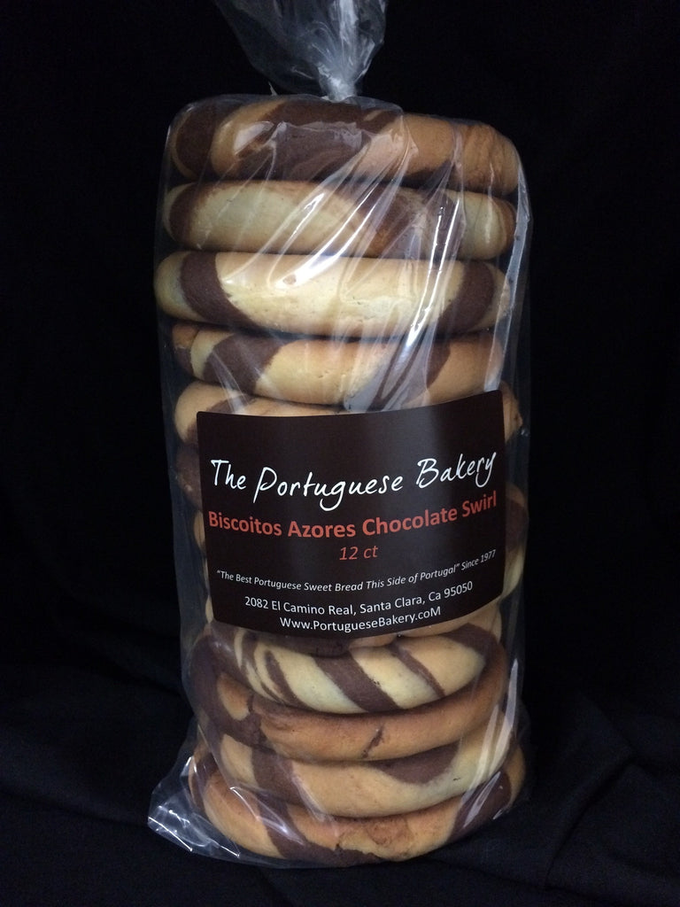 Chocolate Swirl Biscoitos Large Stack 12Ct. (20oz)