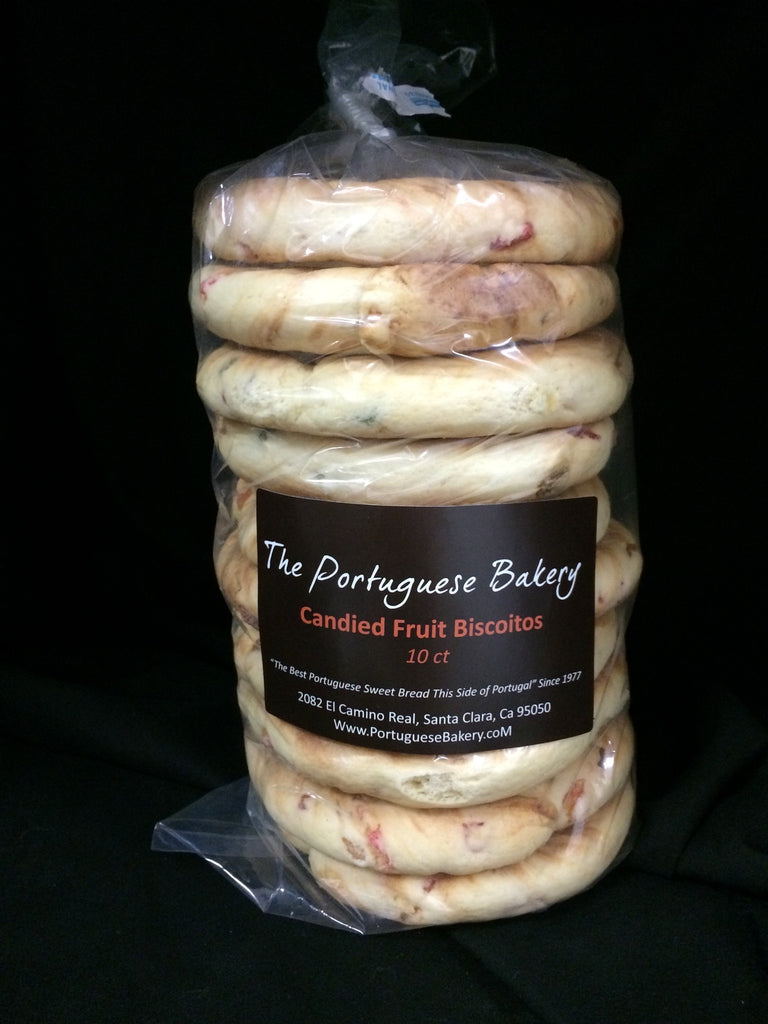 Candied Fruit Biscoitos Large Stack Now 12Ct  (18oz)