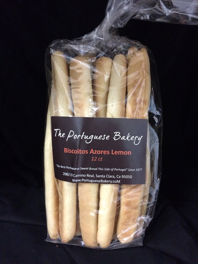 Lemon Biscoitos Azores Large Dipping Sticks (13oz)