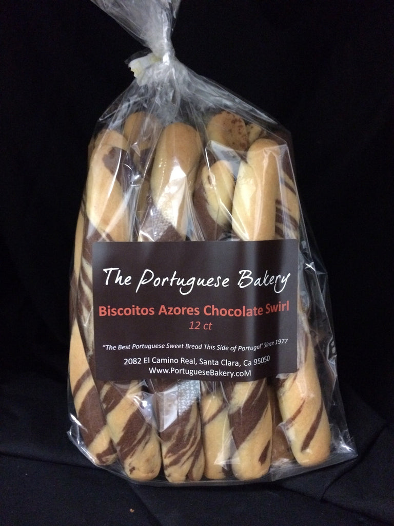 Chocolate Swirl Biscoitos Large Dipping Sticks 12Ct. (13oz)