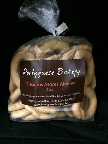 Almond Biscoitos Small Rings 1lb