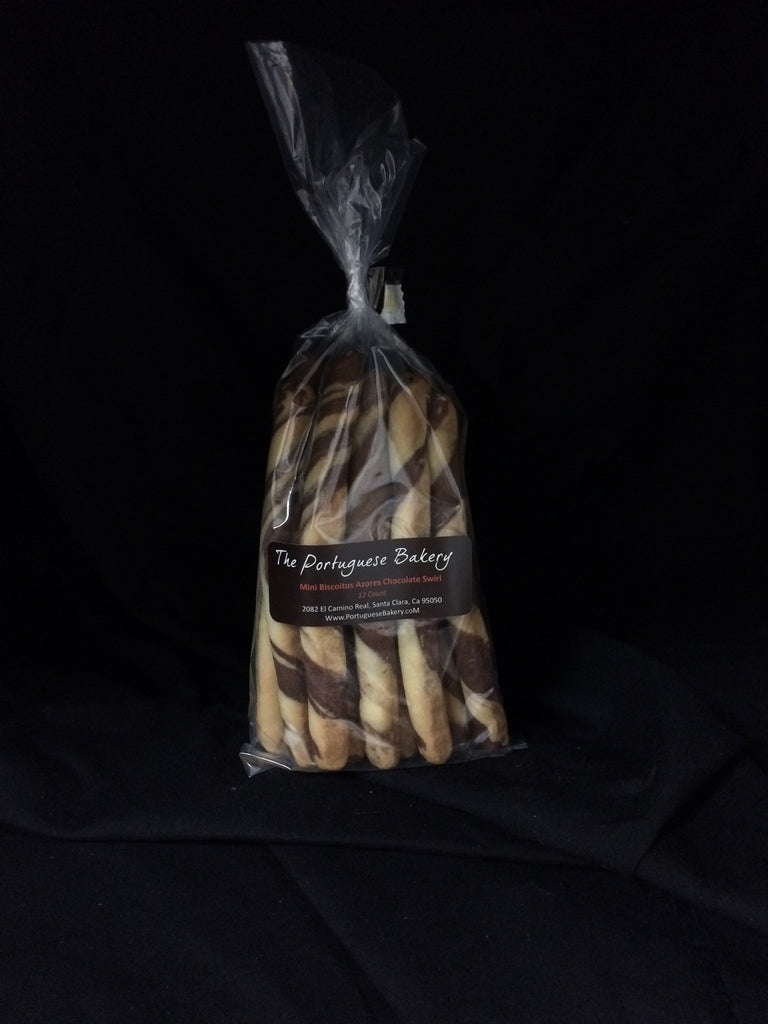 Chocolate Swirl Biscoitos Small Dipping Sticks Mini 12Ct. (3oz)