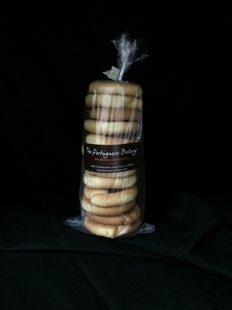 Lemon Biscoitos Small Stack Mini 12Ct. (3.5oz)