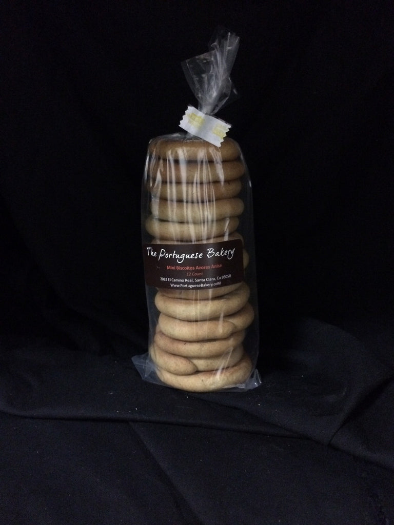 Anise Biscoitos Small Stack Mini 12Ct. (3.5oz)