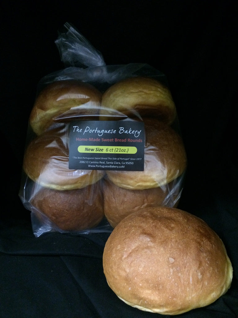 Sweet Bread Rounds 6 Count 20oz (567g)