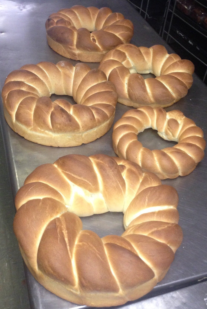Rosquilla Twist Traditional White Bread  (Minimum Order 2)