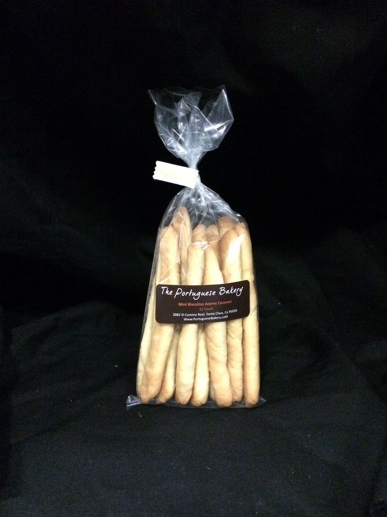 Coconut Biscoitos Small Dipping Sticks Mini 12Ct. (3oz)