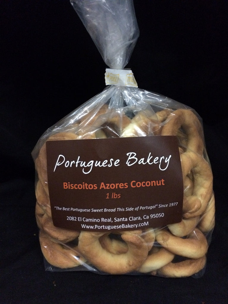 Coconut Biscoitos Small Rings 1lb