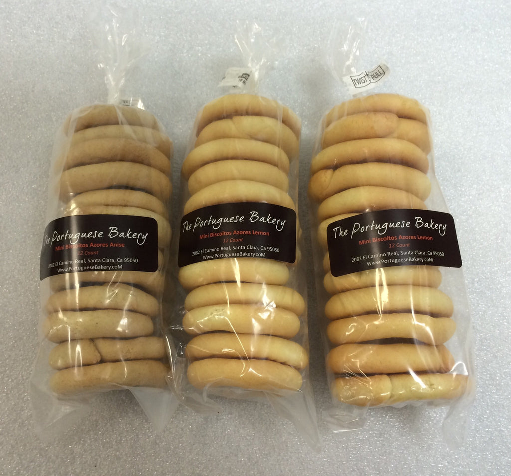 Chocolate Biscoitos Small Stack Mini 12Ct. (3.5oz)