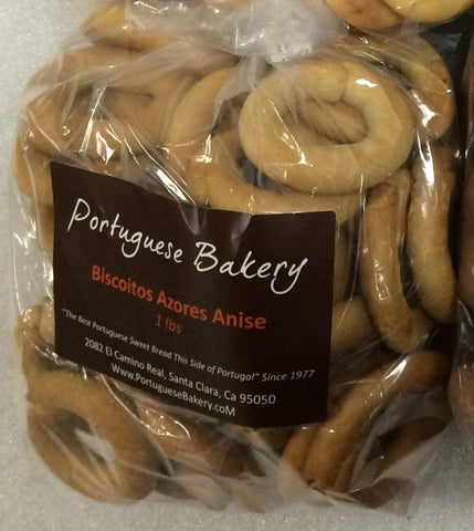 Anise Biscoitos Small Rings 1lb