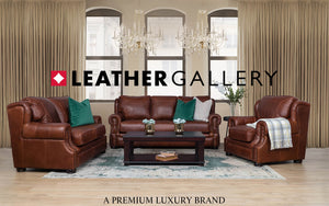 customisable leather couches