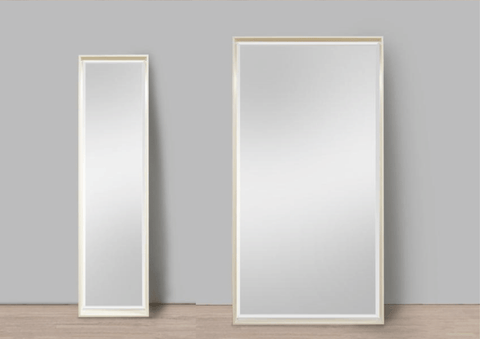 Full Length Mirror In Your Home | Natural Wooden Frame Mirror | Interior Decoration