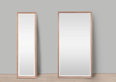 Full Length Mirror In Your Home | Natural Wooden Frame Mirror | House Decor