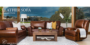 Carolina & Kalahari Leather Sofa Suite | Leather Gallery