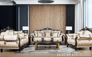 Beige Lounge Suites | Beige Fabric Couches | Beige 3 Piece Lounge Suite