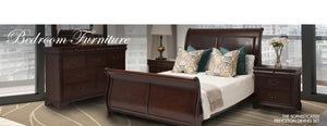 Princeton Bedroom Set | Leather Gallery