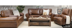 Carolina 2 & 3 Seater | Kalahari Recliner | Leather Gallery