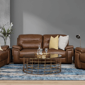 Light Brown Leather Recliner Lounge Suites | Light Brown Leather Recliner Couches | Light Brown Leather 3 Piece Lounge Suite