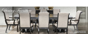 Sorrento 9 Piece Dining Set | Leather Gallery