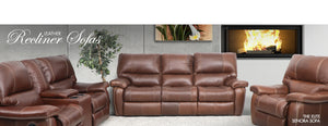 Senora 5 Action Recliner | Odingo Bark | Leather Gallery