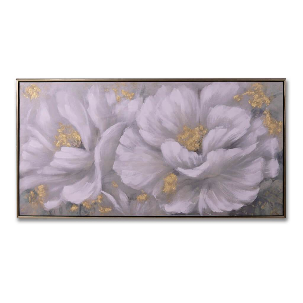 Painting | Tranquil Blooms | Leather Gallery