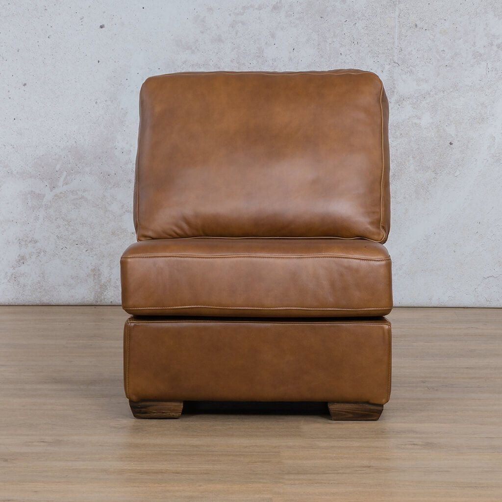 Stanford Leather Armless Chair