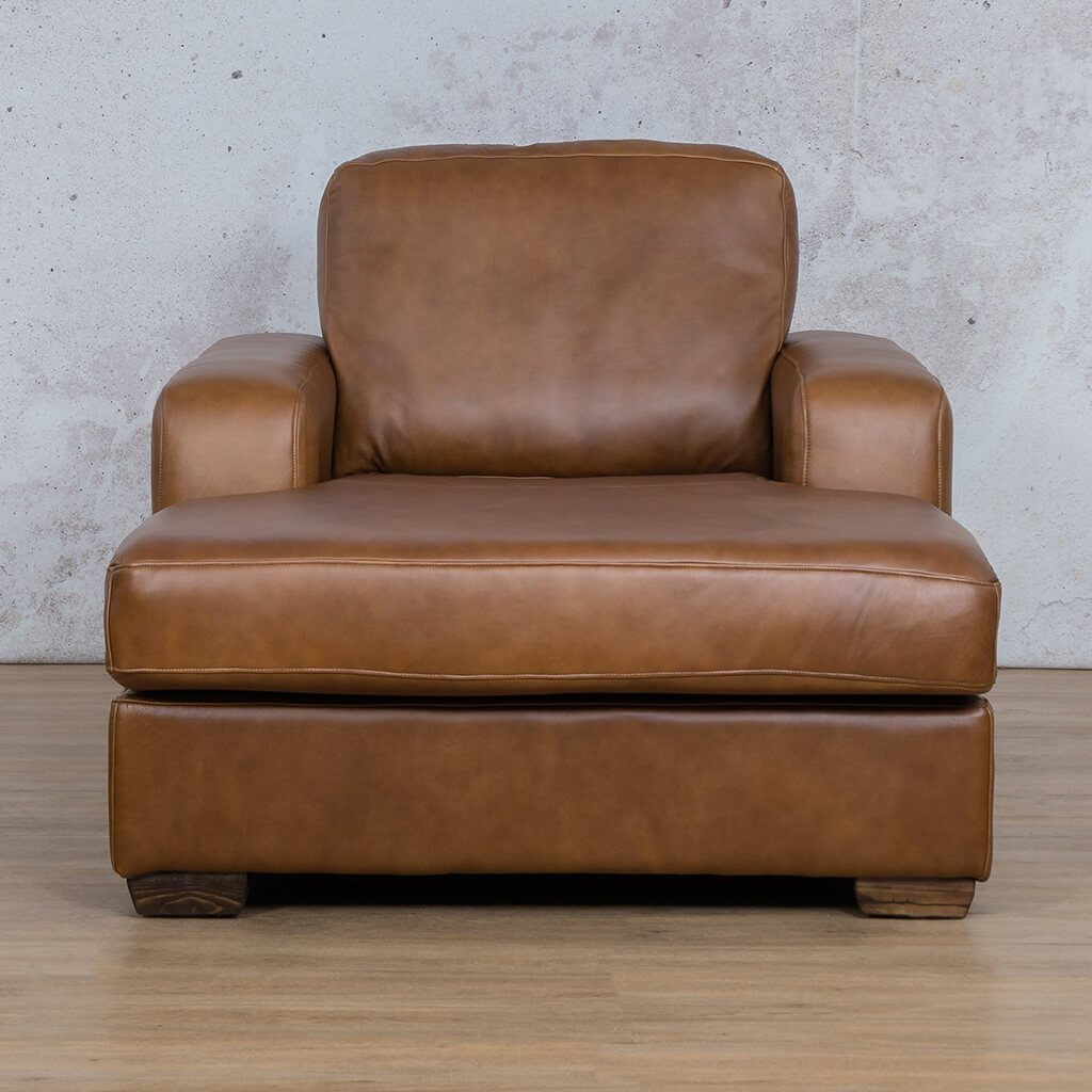 Starnford Leather Corner Couch | 2 Arm Chaise  | Fudge-S | Couches For Sale | Leather Gallery Couches