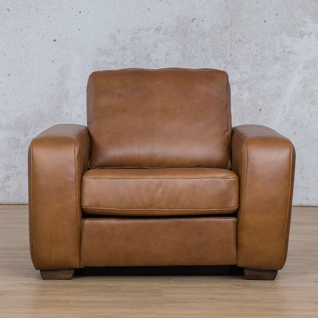 Stanford 1 Seater Leather Sofa