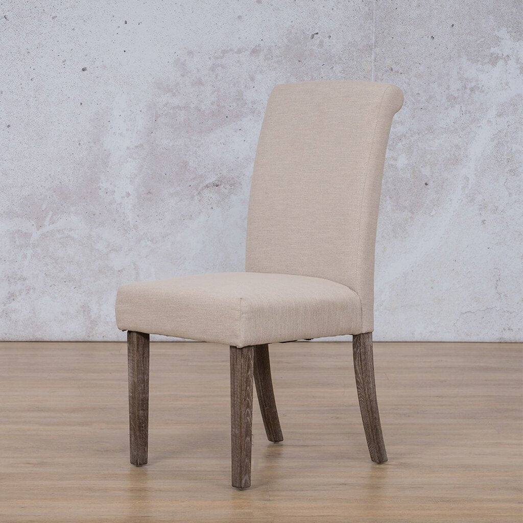 Baron Dining Chair | Add-On | Antique Coffee | Leather Gallery