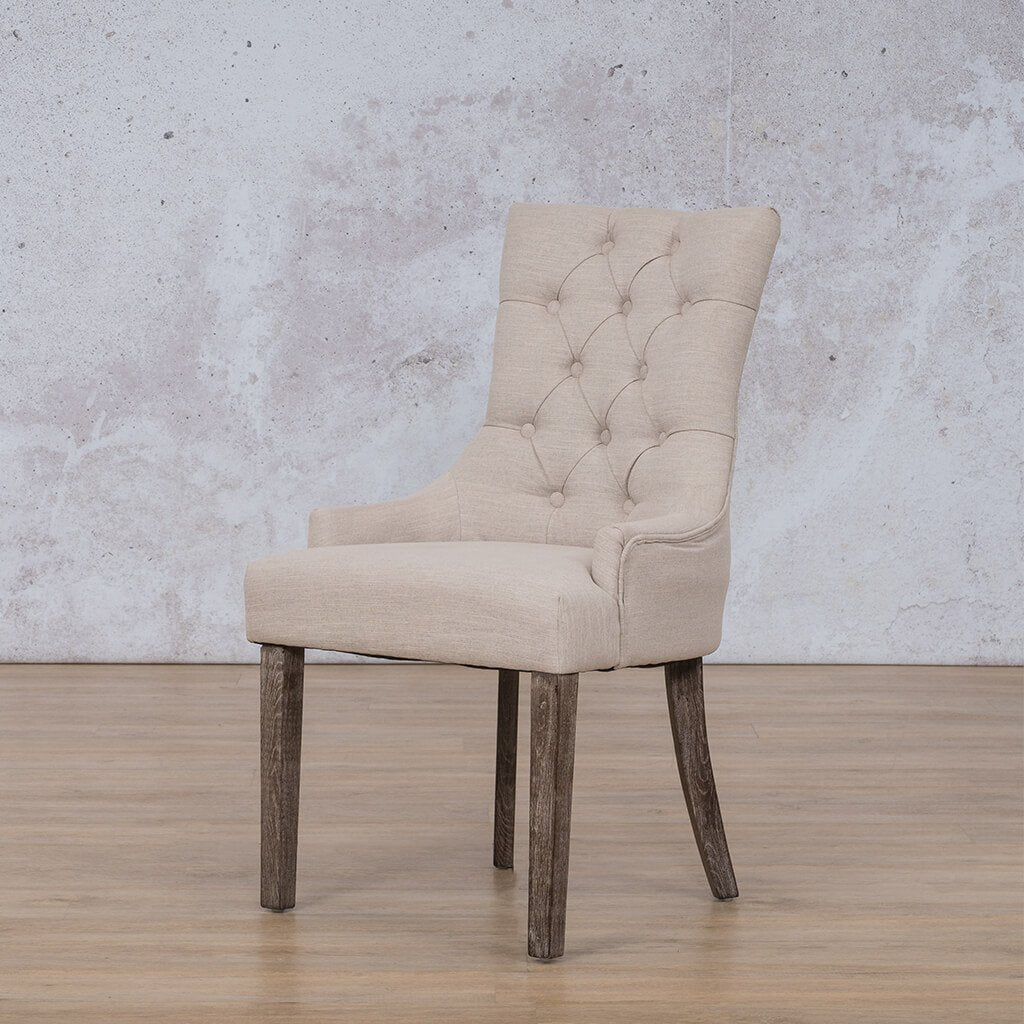 Duchess Carver Dining Chair | Antique Coffee | Leather Gallery